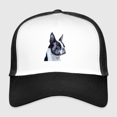 terrier de Boston - Gorra de camionero