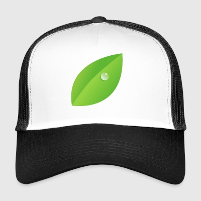 Dew on leaf - Trucker Cap