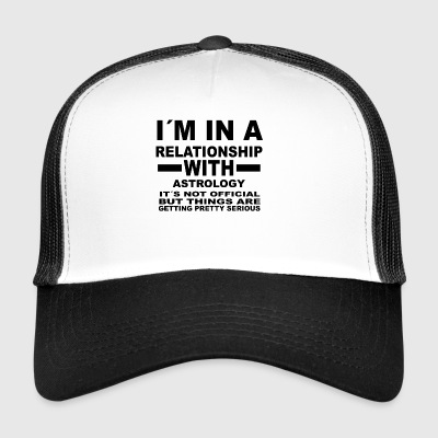 gift gifts birthday relationship ASTROLOGY - Trucker Cap