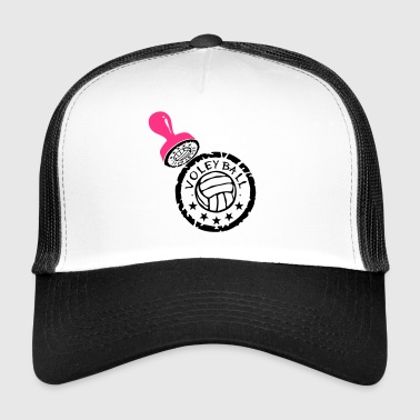 volleyball waterpolo tampon buffer puffe - Trucker Cap