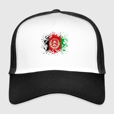 home country roots roots love Afghanistan png - Trucker Cap