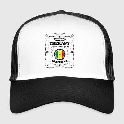 DON T NEED THERAPY GO SENEGAL - Trucker Cap