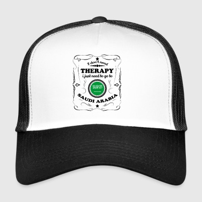 DON T therapie nodig GO SAUDI-ARABIË - Trucker Cap