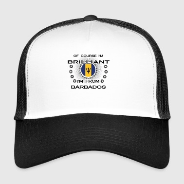 I AM GENIUS BRILLIANT CLEVER BARBADOS - Trucker Cap
