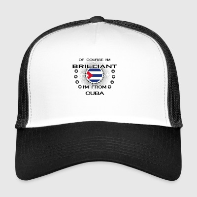 I AM GENIUS BRILLIANT CLEVER CUBA - Trucker Cap