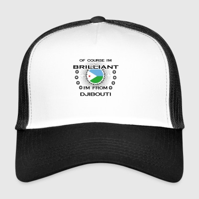 I AM GENIUS BRILLIANT CLEVER DJIBOUTI - Trucker Cap