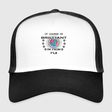 I AM GENIUS BRILLIANT CLEVER FIJI - Trucker Cap