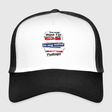 HOLIDAY HOME ROOTS TRAVEL IN Thailand Pattaya - Trucker Cap