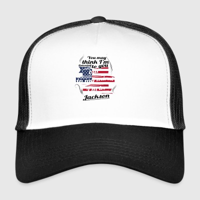 THERAPY HOLIDAY AMERICA USA TRAVEL Jackson - Trucker Cap
