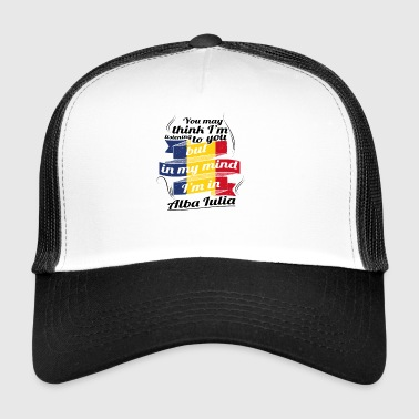 HOLIDAYS Romania ROOTS TRAVEL IN IN ROMA Alba - Trucker Cap