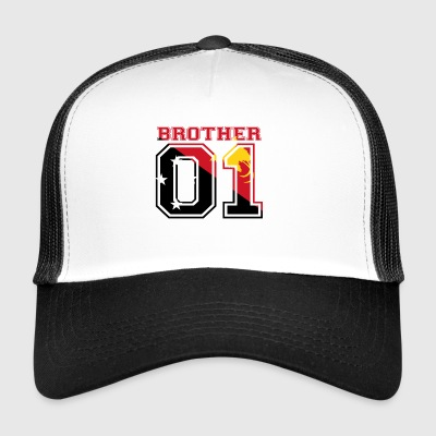 brother brother 01 king Papua New Guinea - Trucker Cap
