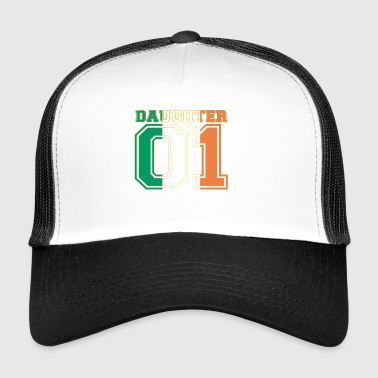 Daughter 01 daughter queen Ireland - Trucker Cap