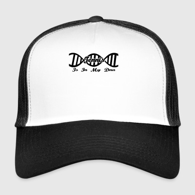 Dna dns evolution geschenk hobby Tennis - Trucker Cap