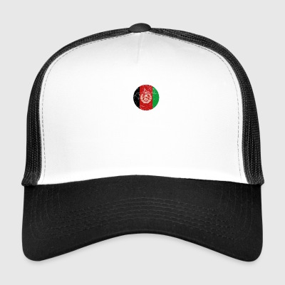 roots love heimat herkunft queen Afghanistan - Trucker Cap