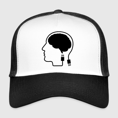 Always Online Plugged In Gift Gift Idea - Trucker Cap