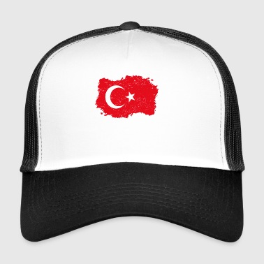 Roots roots flag homeland country turkey png - Trucker Cap