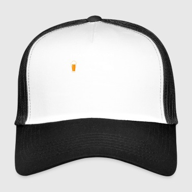 simple man like boobs bier beer titten bulldozer b - Trucker Cap
