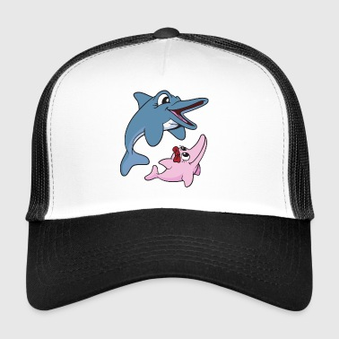 Dolphins dolphins - Trucker Cap