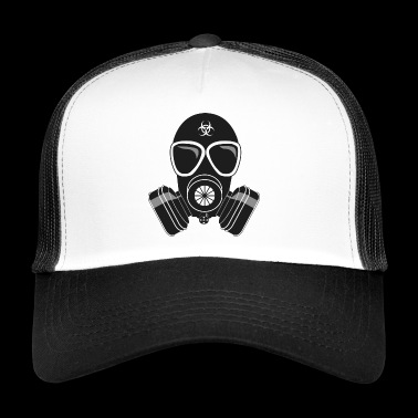 masque à gaz - Trucker Cap