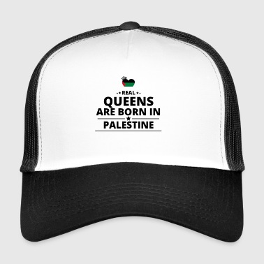 GESCHENK QUEENS LOVE FROM PALESTINE PALESTINA - Trucker Cap