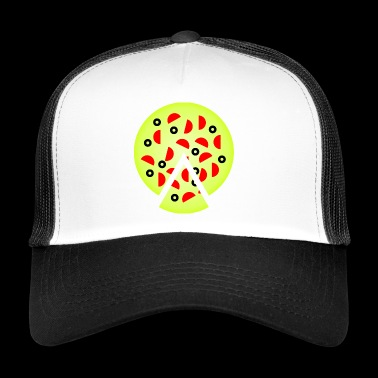 pizza pizzeria food essen restaurant33 - Trucker Cap