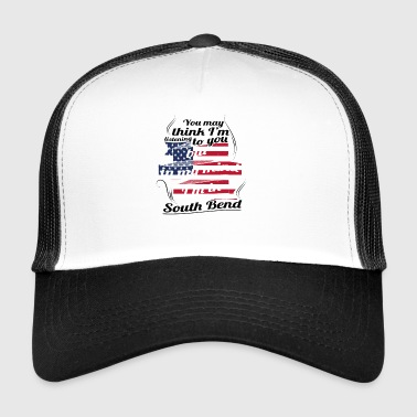 THERAPY HOLIDAY AMERICA USA TRAVEL South Bend - Trucker Cap