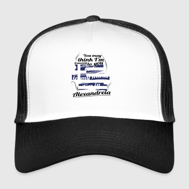 GREECE GREECE TRAVEL IN IN Greece Alexandre - Trucker Cap