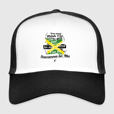 HOLIDAY JAMESICA ROOTS TRAVEL IN Jamaica Savanna - Trucker Cap