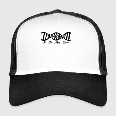 DNA dns evolution, hobby Writing - Trucker Cap