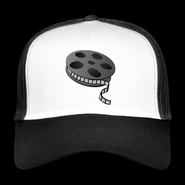 Cinema film reel - Trucker Cap