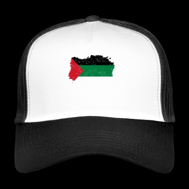 Roots roots flag homeland country palestine palaest - Trucker Cap