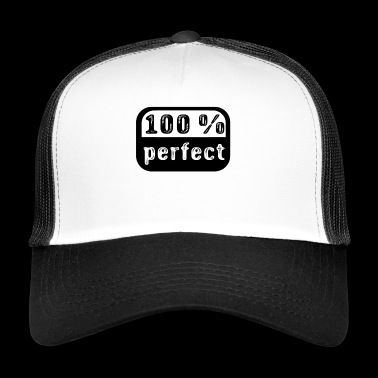 100% perfect - Trucker Cap