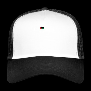home roots queen love from heart palestine palaest - Trucker Cap