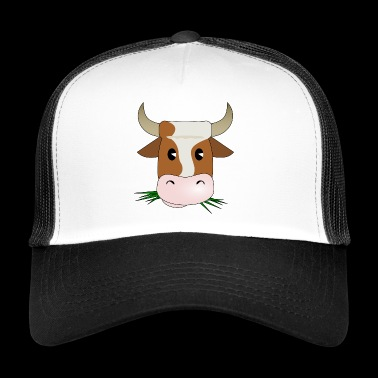 SBDesigns - The Cow / The Cow - Trucker Cap