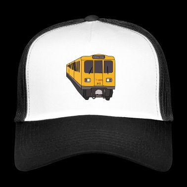 Berlins tunnelbana - Trucker Cap