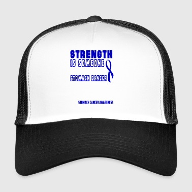 Stomach Cancer Awareness! Fighting with a Smile! - Trucker Cap