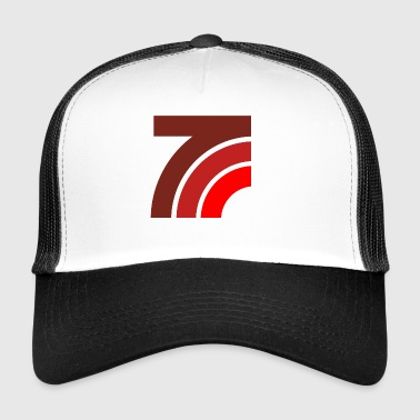 Graphic curves - Trucker Cap