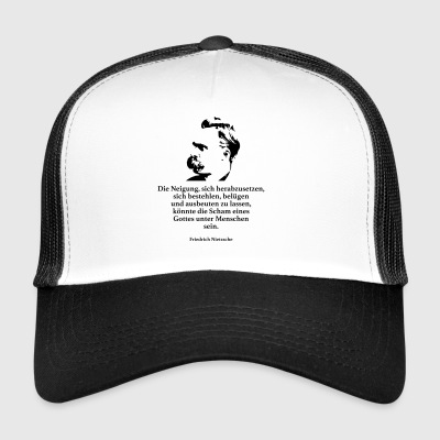 Nietzsche: The inclination to downgrade itself - Trucker Cap