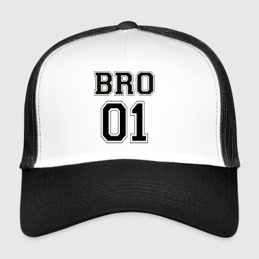 BRO 01 - Black Edition - Trucker Cap