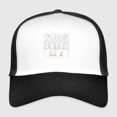 Straight outta 60s - Trucker Cap