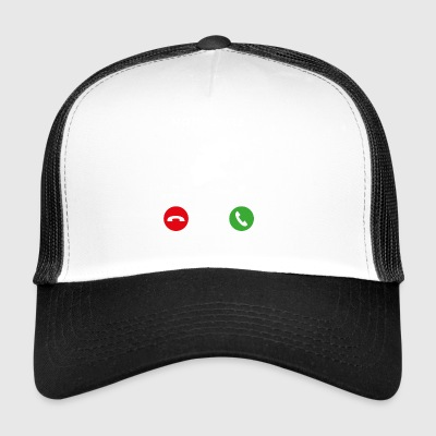 Call Mobile Phone - Trucker Cap
