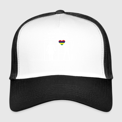 Mauritius gift my wife your wife - Trucker Cap