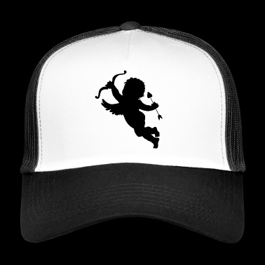 Amour boy with arrow and heart - Trucker Cap