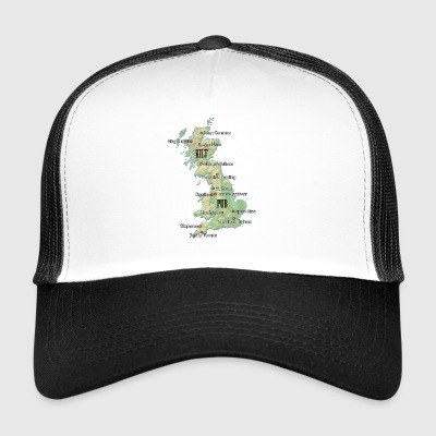Uk Atlas - Trucker Cap