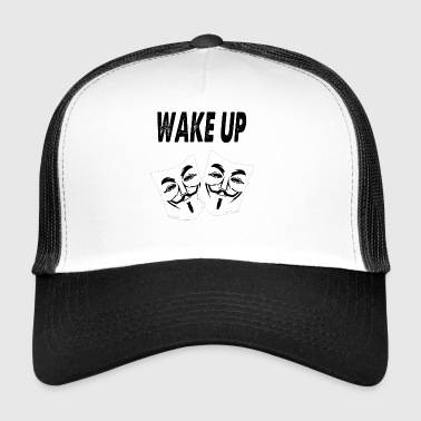 wake up - Trucker Cap
