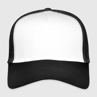 Lustiges Mechaniker Shirt Keine Drogen - Trucker Cap