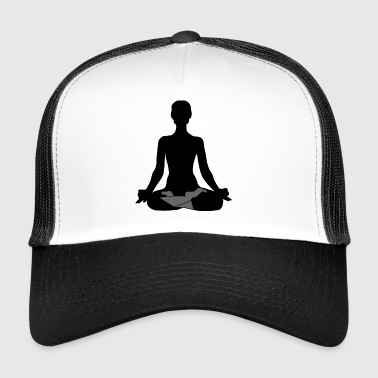 ZEN Lotus Position - Trucker Cap