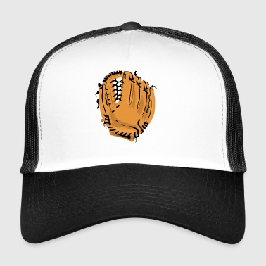 Baseball Glove - Trucker Cap