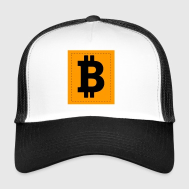Bitcoin Icon - Trucker Cap