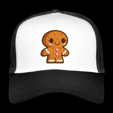 Ginger Man - Ginger Bread - Cookie - Kids Kids - Trucker Cap